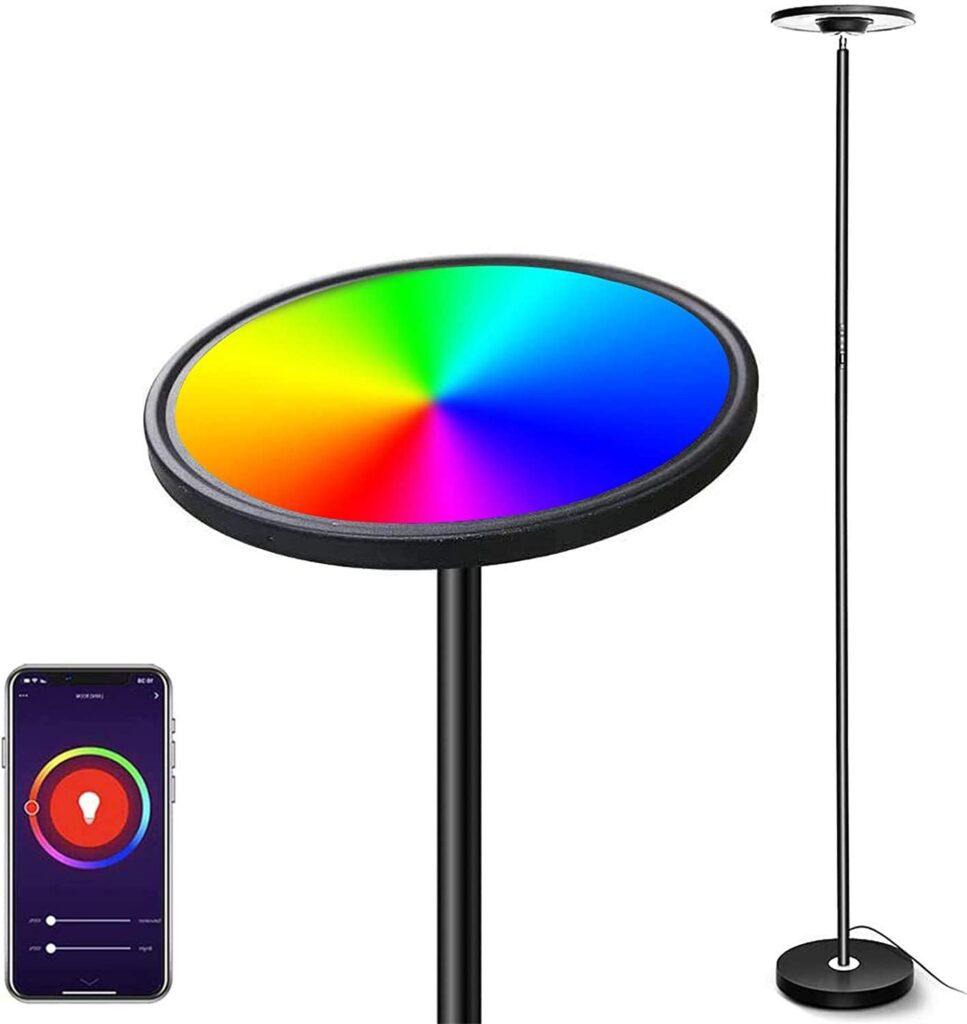 LED Lámpara de Pie Regulable