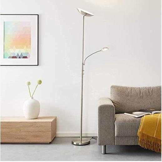 lámpara de pie alumbra al techo led
